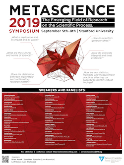 Metascience 2019 Symposium - The Emerging Field of Research